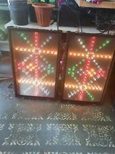 More details for pair of comas retro disco light boxes