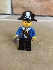 Lego Mini figure Blue Pirate