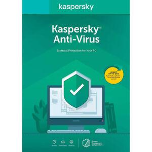 axGear Kaspersky Antivirus Software OEM 1 Users English 1 Year Protection