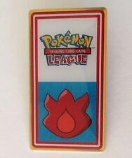 Red Fire Pokemon League Pin Badge Authentic Quality (N8)