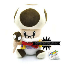 SUPER MARIO BROS. MASTRO TOAD PELUCHE new vecchio Toadsworth plush Papy Champi