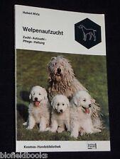 Welpenaufzucht-Hubert Wirtz-Deutsch Dog-1977-1st - signiert Canine Referenz