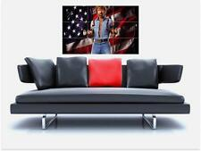"INVASION USA BORDERLESS MOSAIC TILE WALL POSTER 35"" x 25"" CHUCK NORRIS DELTA"