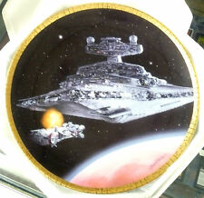 1995 Star Wars Hamilton Star Destroyer Star Wars Space Vehicles Collector Plate