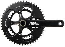 SRAM Rival OCT GXP 2x10 Speed Road Bike Crankset Mirror Black 39/53 180mm