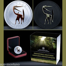 Quetzalcoatlus GLOW IN THE DARK DINOSAUR - 2013 Canada 25 Cents SOLD OUT AT MINT