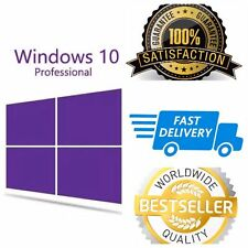 Microsoft Windows 10 Pro / Professional license activation key code 32/64 BIT