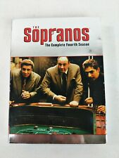 The Sopranos Complete Fourth Season 4 Disc Set Hbo Tv Show Dvd Works