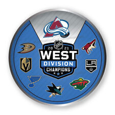 2021 NHL STANLEY Tasse Playoffs Broche Avalanche Ouest Division Champs W/