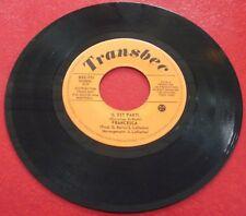 45 RPM Francesca Il Est Parti / Instrumental