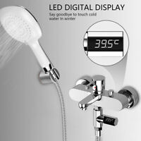 Home LED Display Digital Monitor Visual Water Thermometer Shower Temperature