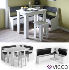 Vicco Eckbankgruppe Roman weiß Esszimmergruppe Sitzgruppe Küchensitzgruppe