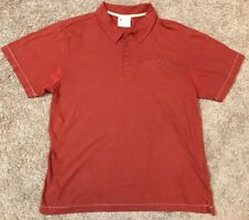 Mens's Alpine Designshirt Sleeve Casual Wear Large Polo