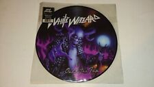 White Wizzard – Over The Top LP Picture Disc Limited Earache RARE Heavy Metal