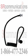 Surveillance Acoustic headset Mic Tube Black Motorola Earpiece CP200 CP150 CP110
