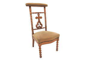 Antique French Prayer Chair Prie Dieu Circa 1890