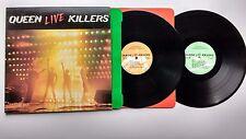 Queen Live Killers 2 x lp 1st UK press with original inners Hard Rock Pop Rock