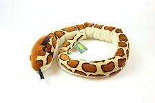 Wild Republic Stuffed Animal Snake- Burmese Python 54in EXCELLENT CONDITION