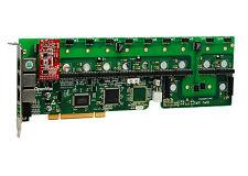 OpenVox A1200P0001 12 Port Analog PCI Base Card + 0 FXS + 1 FXO, Ethernet (RJ45)