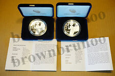 2016 W & S Proof American Liberty Silver Proof Medal 1 oz UH9 + UH10 2 Coins