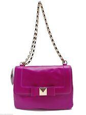 Kate Spade Bow Terrace Handbag $328 Pink Leather Justine Shoulder Bag New!