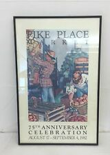 Vintage Pike Place Market 20th Anniversary Print