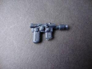 Original Rebel/ Smugglers Blaster Dark Blue/ Black V3 Vintage Star Wars Weapon!