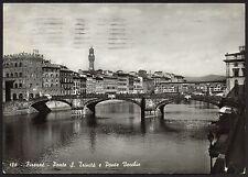 AD1908 Firenze - Città - Ponte S. Trinità e Ponte Vecchio