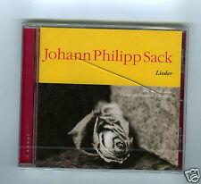 CD NEW JOHANN PHILIPP SACK LIEDER KAI WESSEL