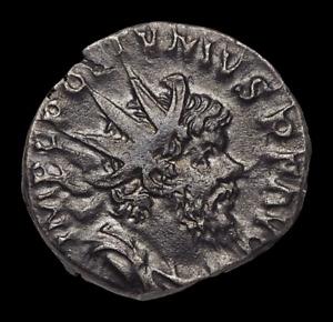 Postumus. Romano-Gallic Emperor, AD 260-269. Silver Antoninianus, Moneta