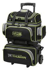 Storm Rolling Thunder Black/Grey/Lime 4 Ball Roller Bowling Bag
