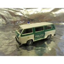 ** Roco 1444 Miniatur Model VW Bus Police 1:87 HO Scale
