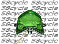 04-05 ZX10R LED Green Taillight Tail Light Rear Brake Integrated Signals