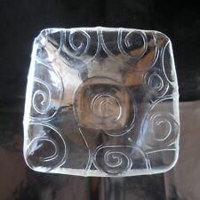 Coupe verre vide-poche PN sculpture ready-made vintage art déco France N4893