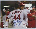 St. Louis Cardinals Carlos Martinez MLB Signed Autographed 11x14 Photo JSA w/ins