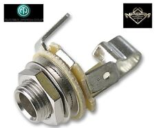 Neutrik 6.35mm 1/4 Inch Jack Socket Panel Mount Guitar Connector Open Mono