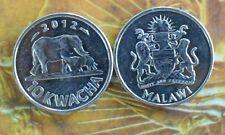 MALAWI - 10 Kwacha - Elephant Animal  Brilliant UNC Coin