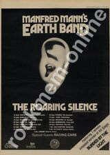 Manfred Mann's Earthband Racing Cars Bletchley Leisure LP Tour advert 1976