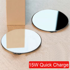15W Qi Wireless Charger Fast Charging Mirror Pad Mat For iPhone 11 Pro Max XS 8+