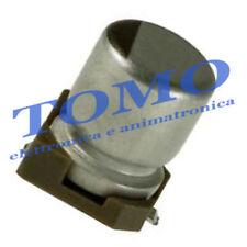 Condensatore elettrolitico SMD 22uF 50V 105° 5 pezzi CSMD-22UF-50