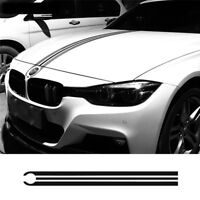 Car Hood Racing Stripes Lines Decals Engine Cover Stickers for BMW Mercedes Benz