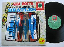 LP Gigi Botto - Suona Le Canzoni Dei Beatles - mint- Beatles Cover