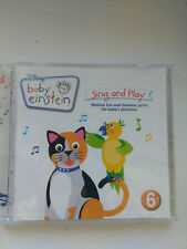 Disney Baby Einstein Sing And  Play 6+ Month CD 2008  21 Classic Kid Songs