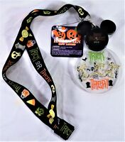 Disney 2018 Halloween Trick Or Treat Mummy Goofy Animated Light Up Lanyard NEW