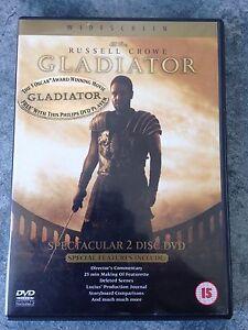 GLADIATOR  2 DISC SET COLLECTORS EDITION (R4 DVD)