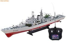 "RC Boat Radio Warship 1/115 RC 31"" Remote Control Battleship Model Kit navy gift"