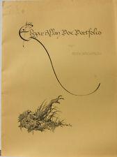 BERNIE WRIGHTSON Portfolio, EDGAR ALLAN POE, Limited Signed Numbered, 8 plates