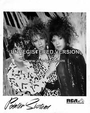 """Pointer Sisters 10"""" x 8"""" Photograph no 1"""