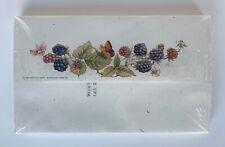 Vintage Marjolein Bastin Unopened Pack of 20 Printed Envelopes - Blackberries