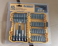 DEWALT DW2166 45 PC. SCREWDRIVING SET WITH TOUGH CASE